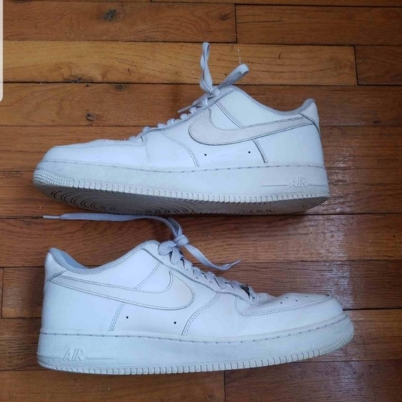 Nike Air Force 1 '07 Low White Size 12 Men's